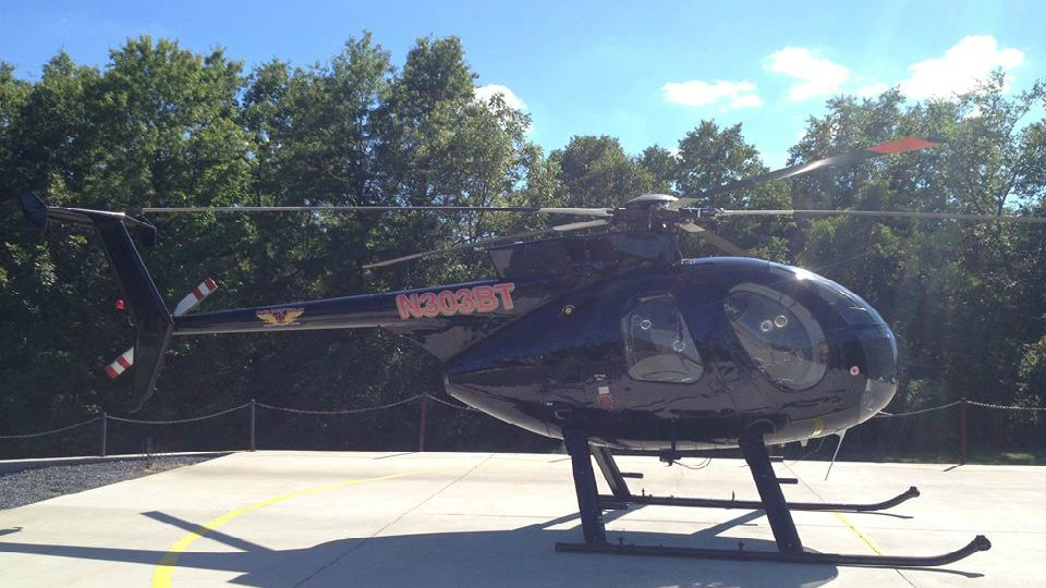 The Columbiana County Sherrif's Office is letting the community know about some helicopters they may notice in the skies above the county.