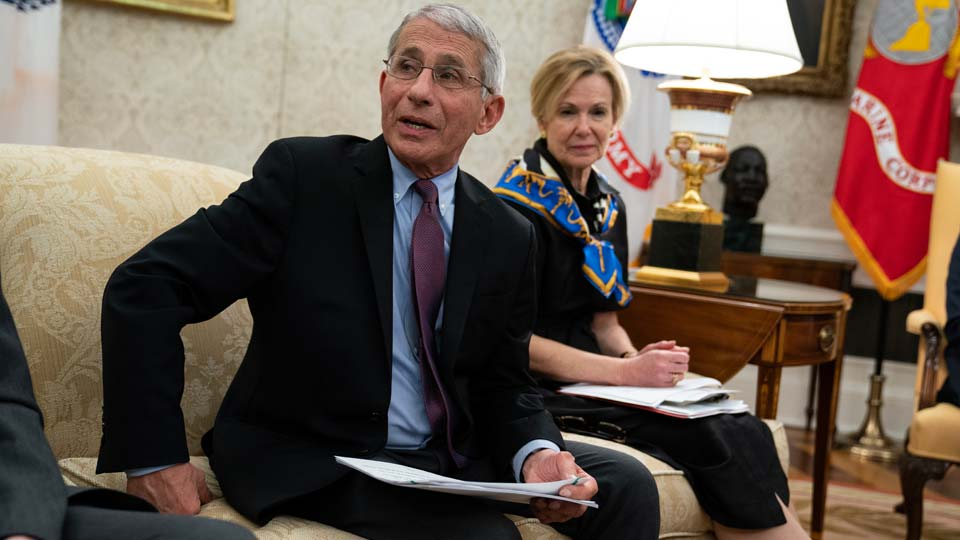 National Institute of Allergy and Infectious Diseases Dr. Anthony Fauci