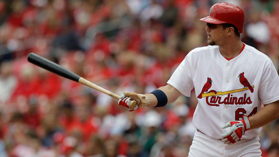 St. Louis Cardinals' Mark Hamilton