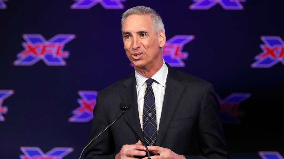 Oliver Luck, XFL Commissioner and CEO