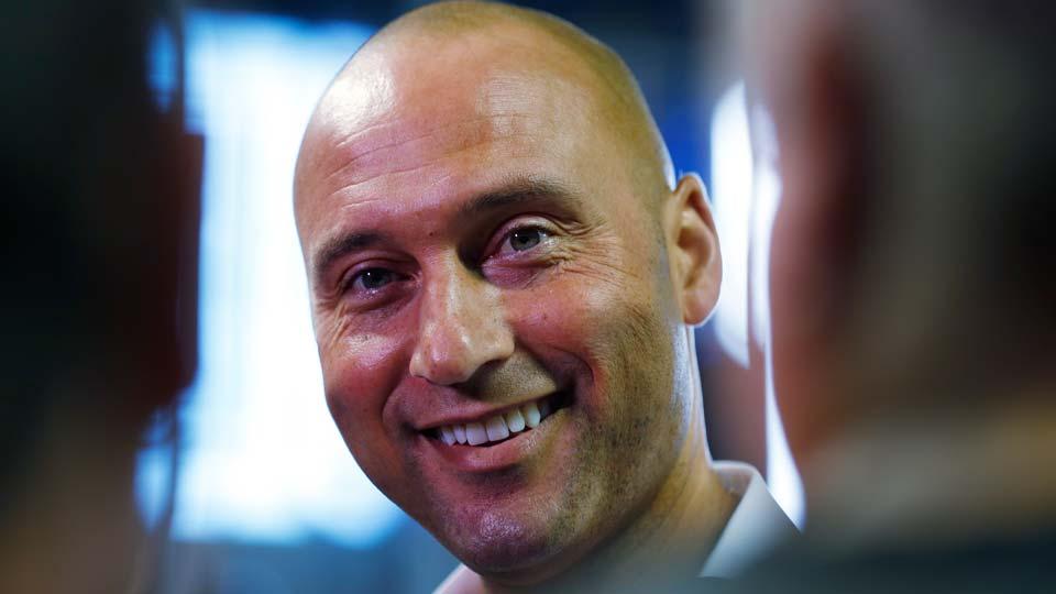 Miami Marlins baseball team CEO Derek Jeter