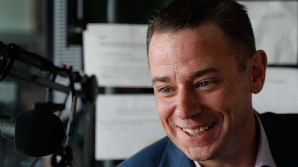 New York Mets public address announcer Colin Cosell