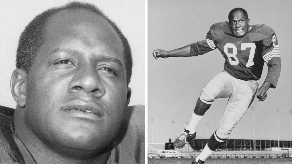 Green Bay Packers defensive end Willie Davis, a member of the Pro Football Hall of Fame