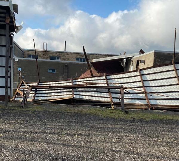 Niles storm damage