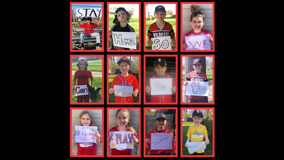 Little League baseball players in Struthers are making a plea to get back on the field.