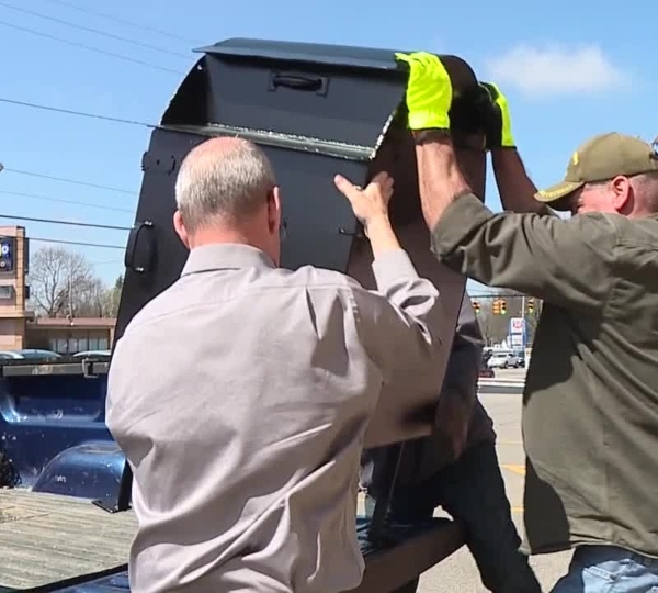 Trumbull County absentee ballot box