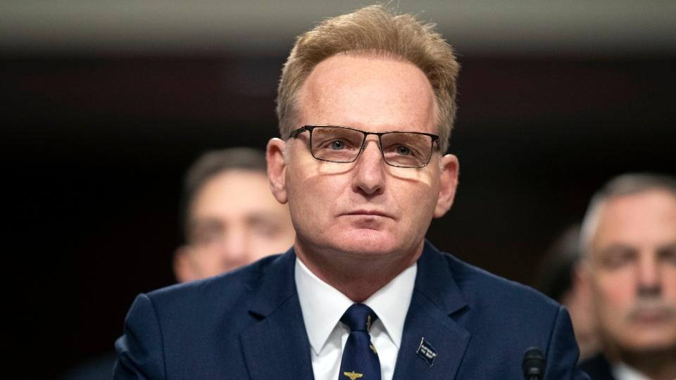Acting Navy boss submits resignation amid coronavirus uproar.