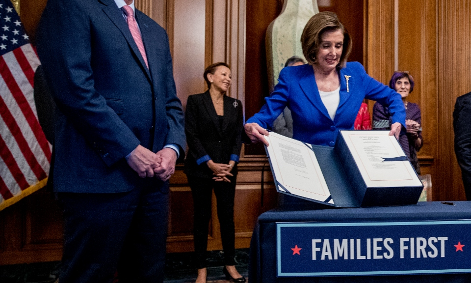 In pivot, Pelosi sees next relief bill with bipartisan goals.