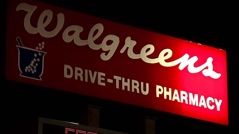 Walgreens Boardman sign