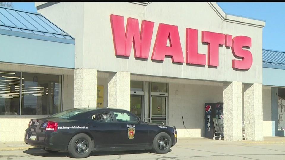 Walt's grocery store in Mercer, Pennsylvania