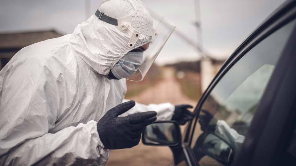 COVID, Coronavirus, Drive up Testing