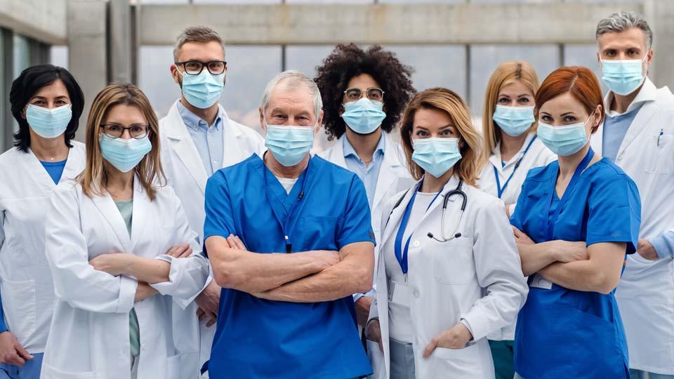COVID, Coronavirus, Medical Staff, Doctors, Nurses