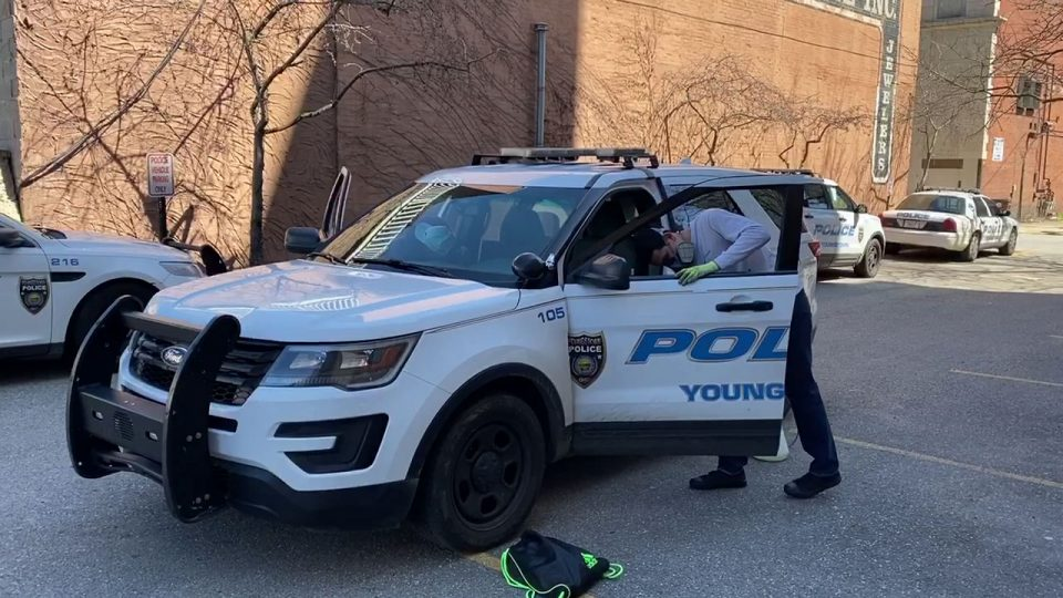 youngstown police cleaning