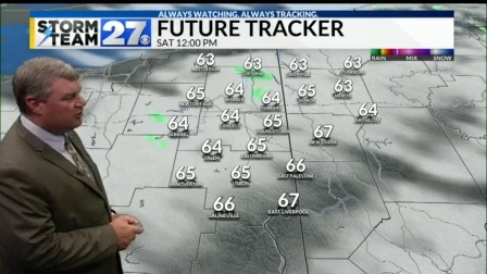 Cool this weekend with low humidity
