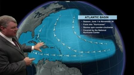 The Atlantic Hurricane season starts soon