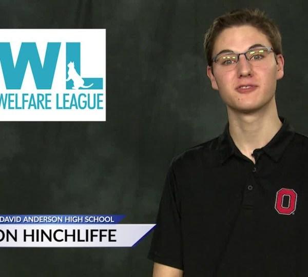 CFOC Scholarship Aaron Hinchliffe