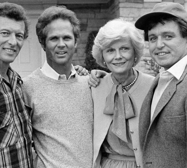 Ken Osmond, Tony Dow, Barbara Billingsley and Jerry Mathers