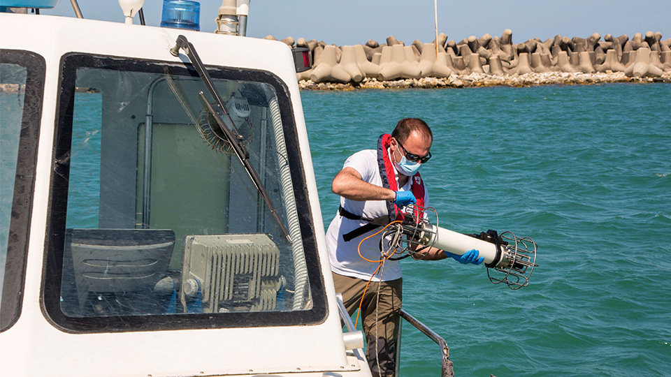 Virus Outbreak Italy Sea Change