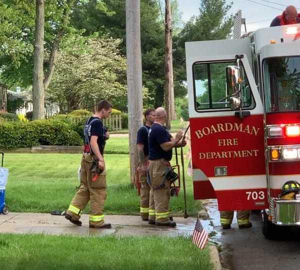 Boardman house fire