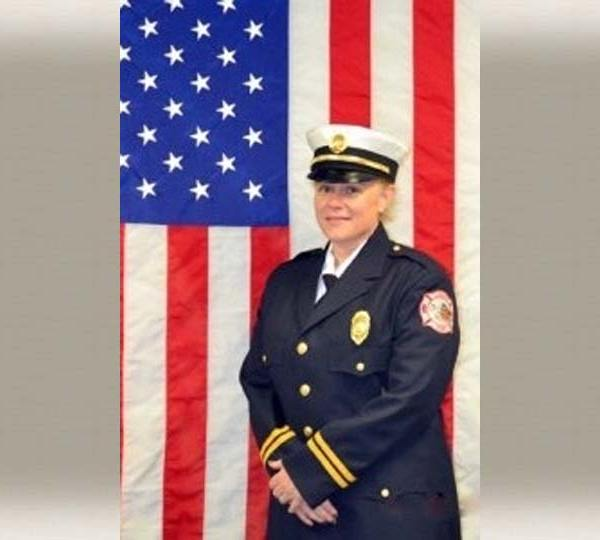 Cathy Macchione, Liberty Twp. Firefighter