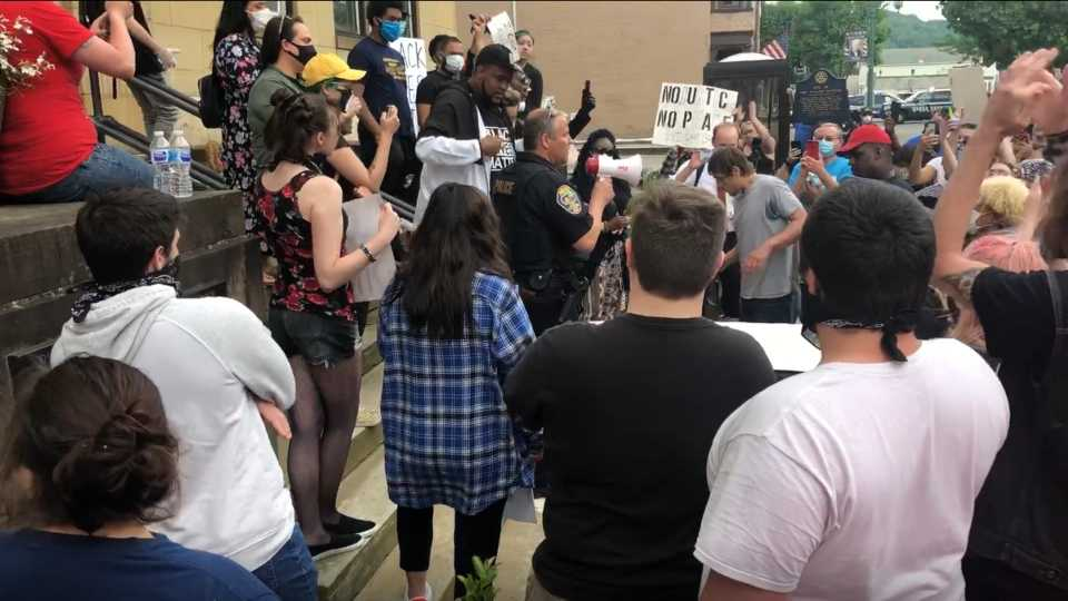 East Liverpool protests, police chief answers questions.