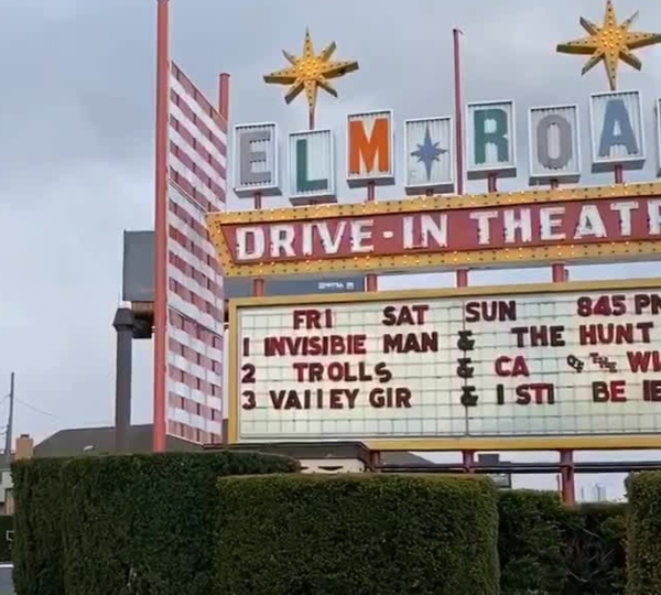 Elm Road Drive-In Theater, Warren