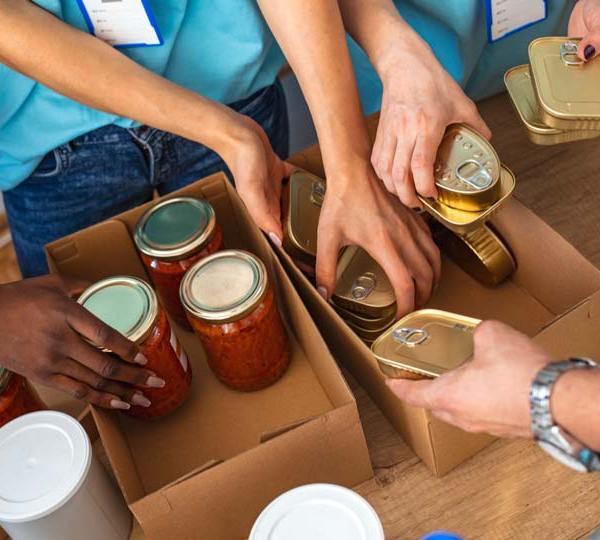 Food drive, Food donations