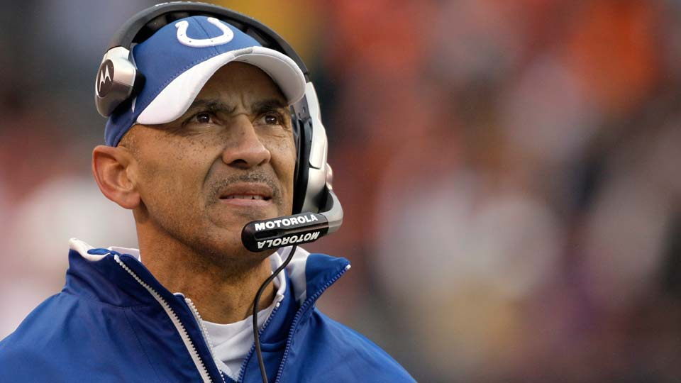 Former Indianapolis Colts coach Tony Dungy