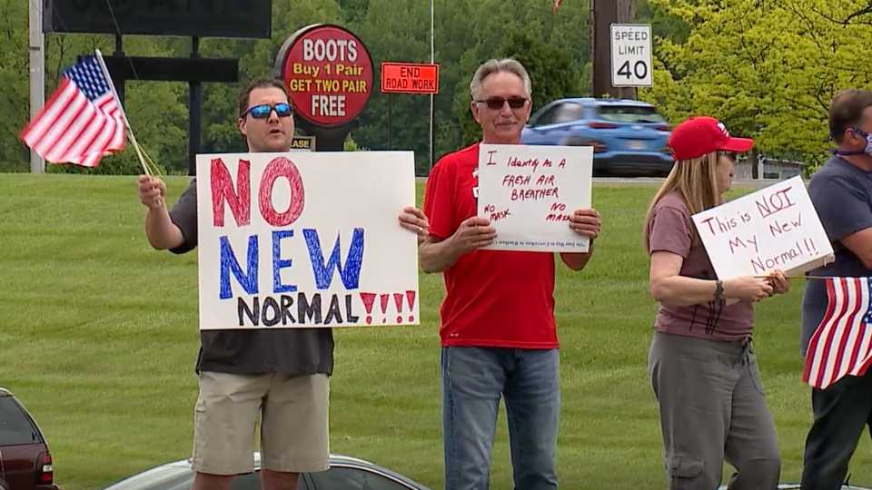 Free Ohio Now rally in Boardman