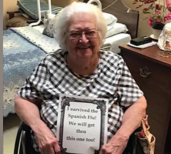 Genevieve Coontz, Boardman, survived Spanish flu and coronavirus