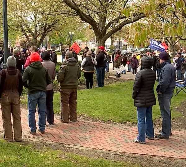 Lisbon rally Free Ohio Now