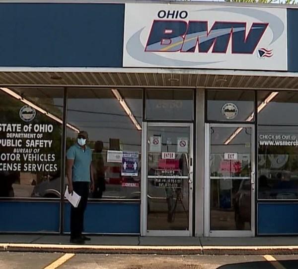 Ohio BMV coronavirus