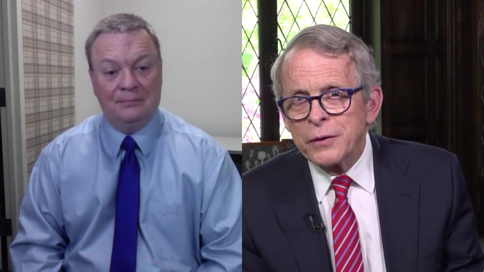 Ohio Gov. Mike DeWine, coronavirus interview