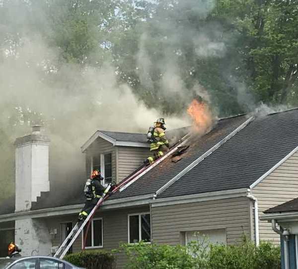 Poland house fire