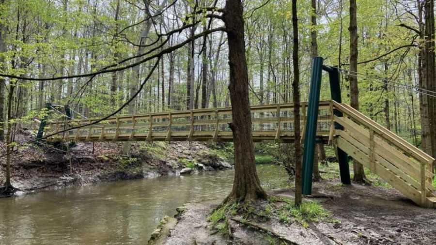 Poland Municipal Forest Mauthe Bridge