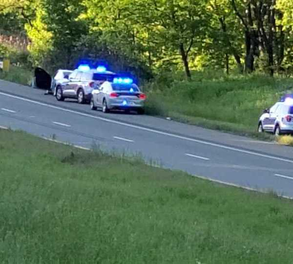 Suspect search following chase in Columbiana County