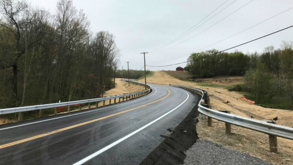 U.S. Route 30 is open to traffic following a safety improvement project.