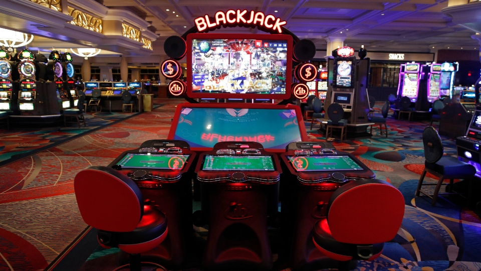 Disinfected dice: Las Vegas casinos getting ready to roll.