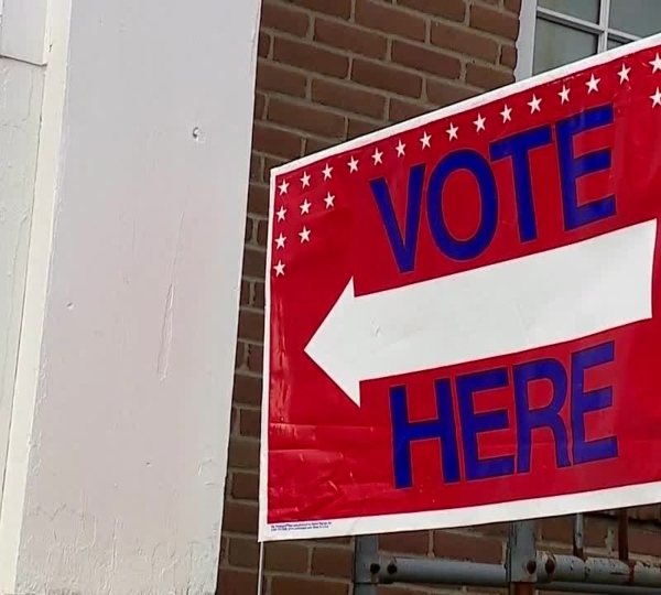 Pennsylvania polling place, voting