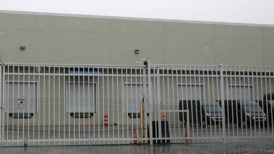 warehouse in Weston, Fla. used by the U.S. Drug Enforcement Agency