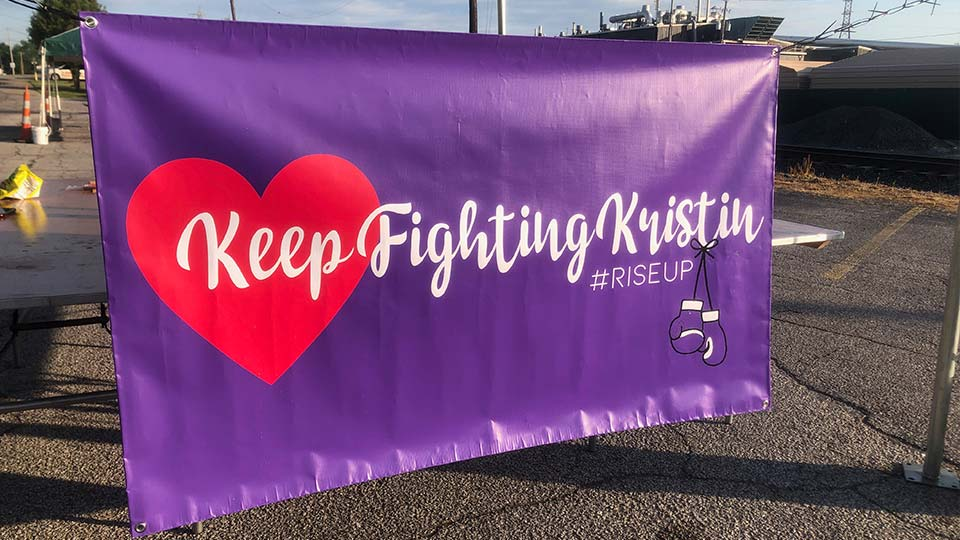 Keep fighting kristen fox
