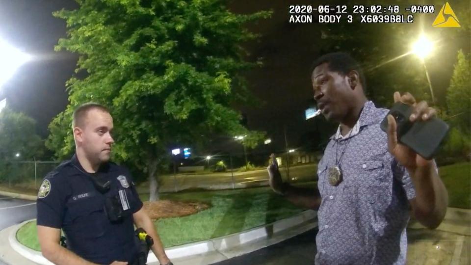 Atlanta police shooting, Rayshard Brooks