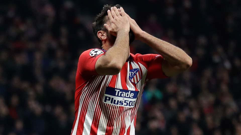 Atletico forward Diego Costa