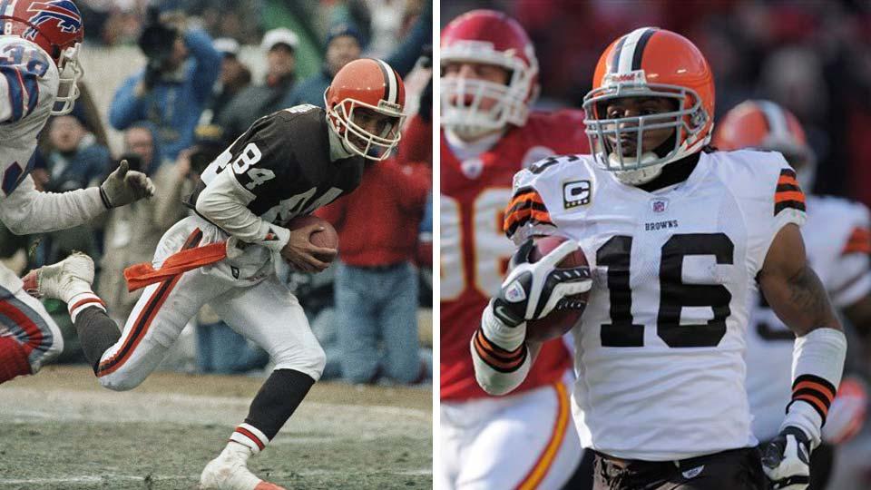 Cleveland Browns, Webster Slaughter and Josh Cribbs