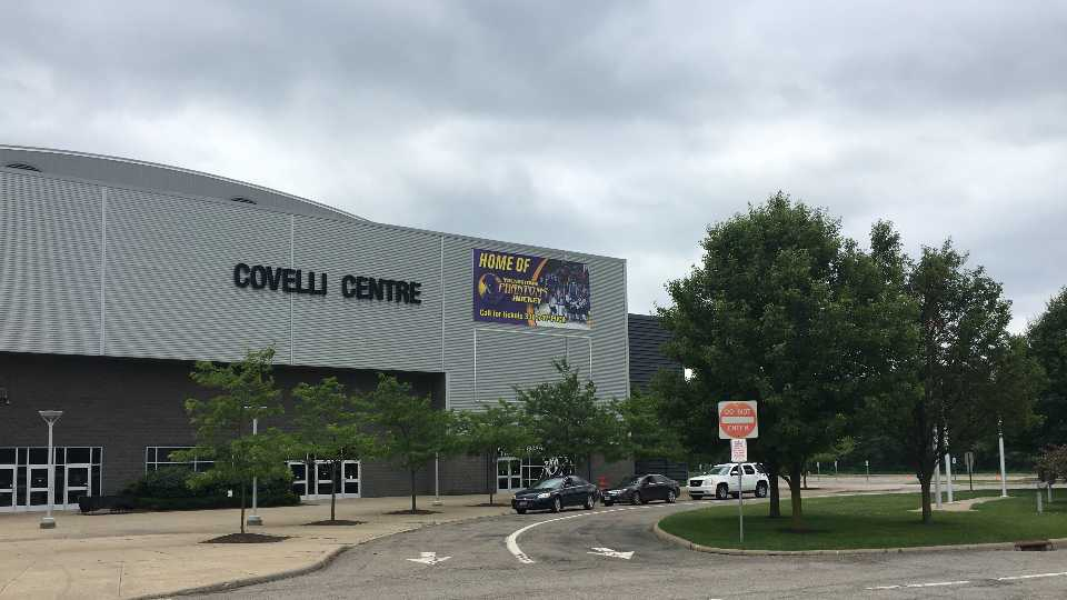 Drive-thru COVID-19 testing begins Wednesday at the Covelli Centre in Youngstown.