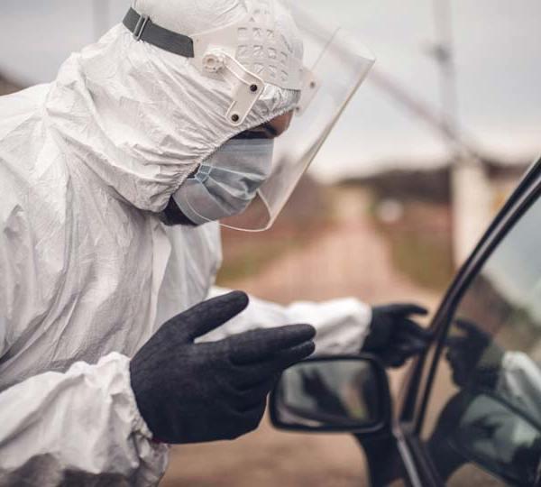 Drive up COVID, Coronavirus, Testing
