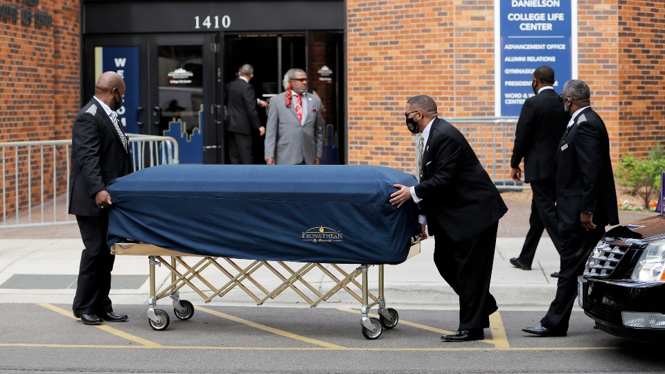 Floyd to be eulogized in Minneapolis memorial, first of 3.