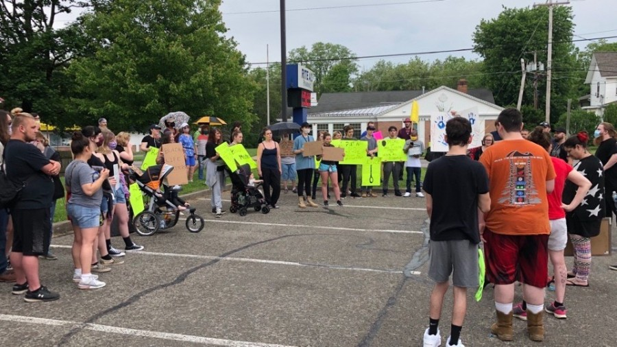 Greenville protest