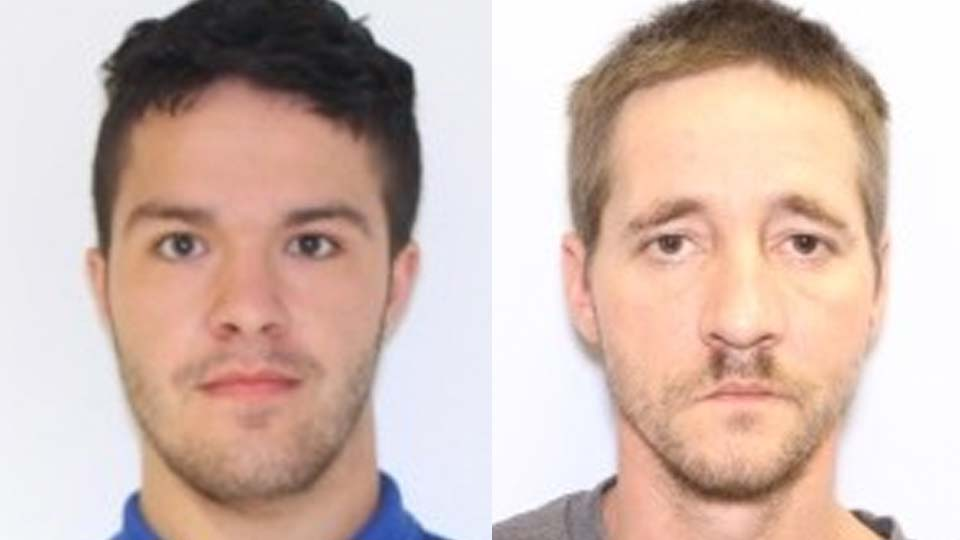 Joshua Davis and Tommy Murphy are wanted by Weathersfield police on breaking and entering, vandalism and arson allegations