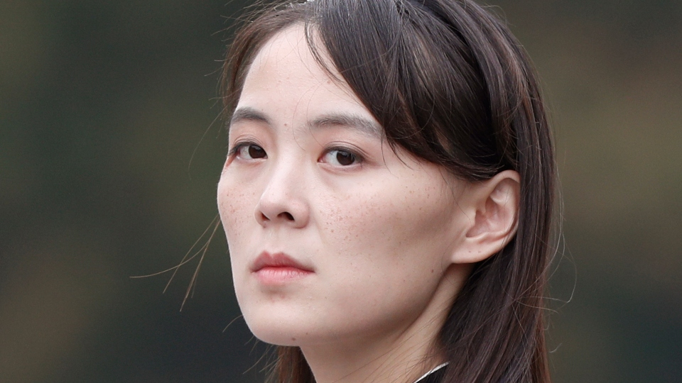 Kim Jong Un's sister threatens S. Korea with military action.